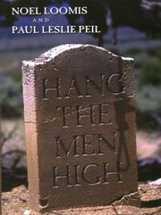 Cover of: Hang the men high | Noel M. Loomis
