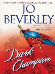Cover of: Dark champion | Jo Beverley