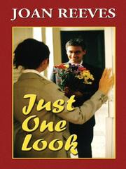 Cover of: Just one look | Joan Reeves