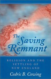 Cover of: saving remnant | Cedric B. Cowing