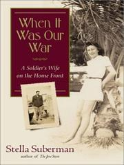 Cover of: When it was our war