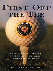 Cover of: First Off The Tee | Jr. Don Van Natta