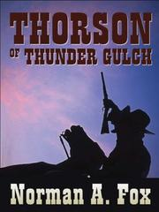 Cover of: Thorson of Thunder Gulch