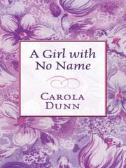 Cover of: A Girl with No Name (aka Toblethorpe Manor)
