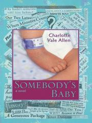 Cover of: Somebody's Baby: A Novel