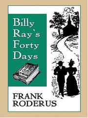 Cover of: Billy Ray's forty days