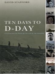 Cover of: Ten days to D-Day