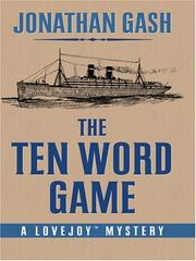 Cover of: The ten word game
