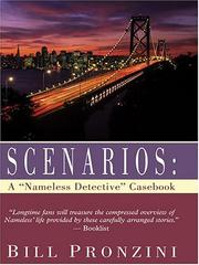 "Cover of: Scenarios: a ""Nameless Detective"" casebook"