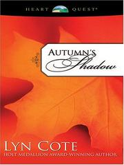 Cover of: Autumn's shadow | Lyn Cote