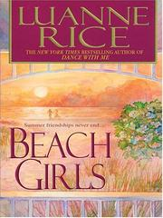 Cover of: Beach girls
