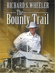 Cover of: The bounty trail