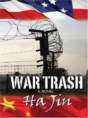 Cover of: War trash: a novel