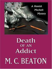 Cover of: Death of an addict