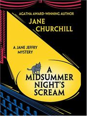 Cover of: A midsummer night's scream: a Jane Jeffry mystery