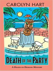 Cover of: Death of the party: a death on demand mystery