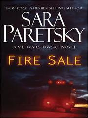 Cover of: Fire sale