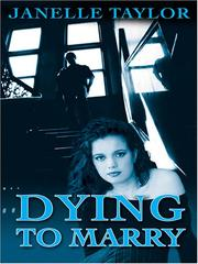 Cover of: Dying to marry