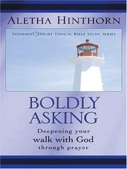 Cover of: Boldly Asking | Aletha Hinthorn