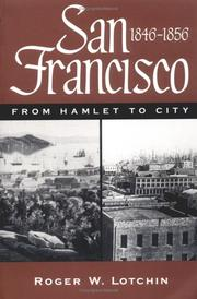Cover of: San Francisco, 1846-1856