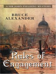 Cover of: Rules of Engagement (Sir John Fielding #11)