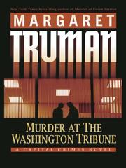 Cover of: Murder at the Washington Tribune