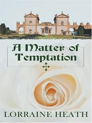 Cover of: A matter of temptation