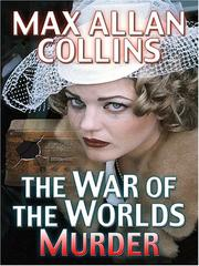 Cover of: The War of the worlds murder