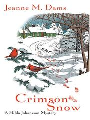 Cover of: Crimson Snow | Jeanne M. Dams