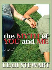 Cover of: The Myth of You and Me