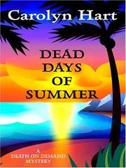 Cover of: Dead days of summer: a death on demand mystery