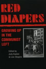 Cover of: Red Diapers |
