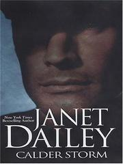 Cover of: Calder Storm | Janet Dailey