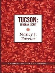 Cover of: Tucson | Nancy J. Farrier