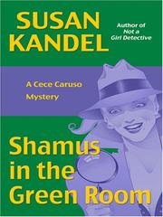 Cover of: Shamus in the Green Room