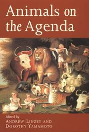 Cover of: Animals on the agenda |