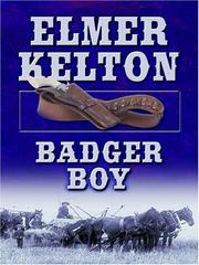 Cover of: Badger Boy | Elmer Kelton