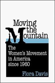 Cover of: Moving the Mountain | Flora Davis