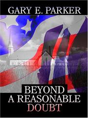 Cover of: Beyond a Reasonable Doubt