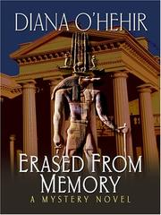 Cover of: Erased From Memory