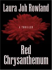 Cover of: Red Chrysanthemum (Sano Ichiro Mysteries: Thorndike Press Large Print Historical Fiction)