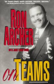 Cover of: On teams | Ron J. Archer