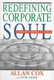 Cover of: Redefining corporate soul