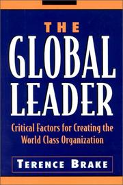 Cover of: The Global Leader