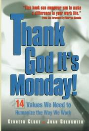 Cover of: Thank God it's Monday!