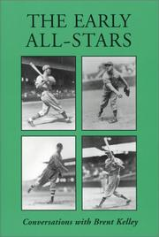 Cover of: The early all-stars
