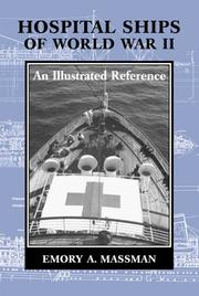 Cover of: Hospital Ships of World War II