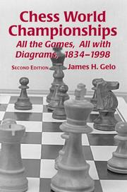 Cover of: Chess World Championships