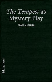Cover of: The tempest as mystery play