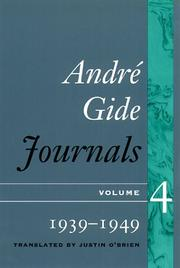 Cover of: Journals | AndreМЃ Gide